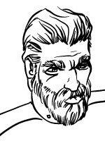 "Commander Anthony Keller: Commander of Earths, Saturn Class Carrier ""Aquila Pride""."
